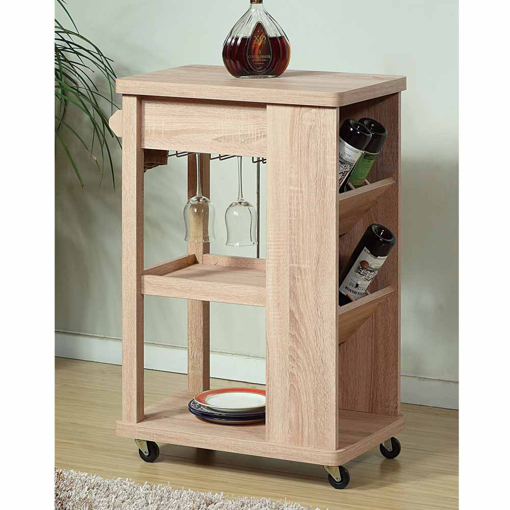 Best ideas about Kitchen Cart With Wine Rack . Save or Pin Contemporary Kitchen Island Buffet Serving Cart Rolling Now.