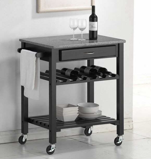 Best ideas about Kitchen Cart With Wine Rack . Save or Pin Your Guide to Buying a Kitchen Cart with a Wine Bottle Now.