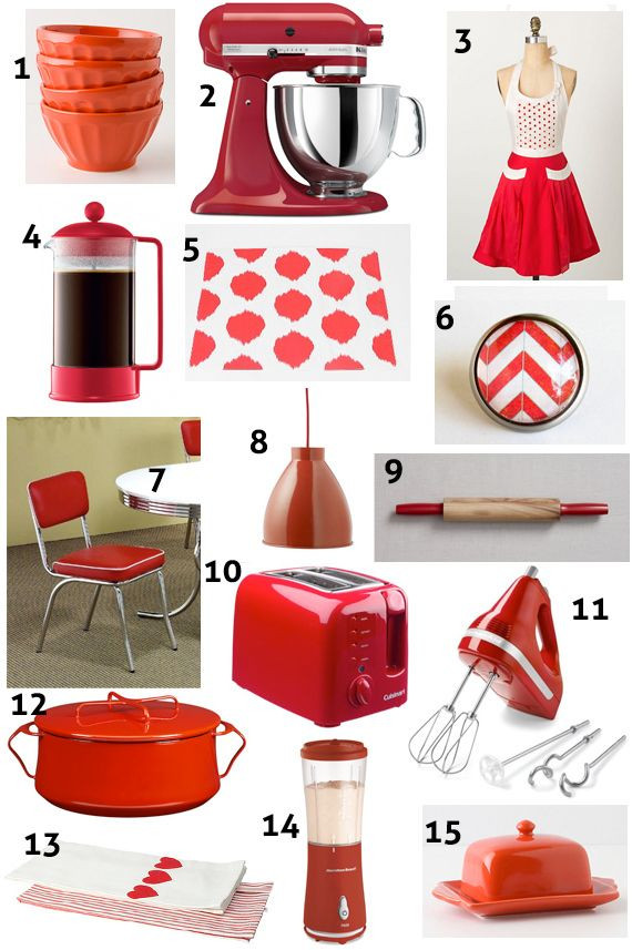 Best ideas about Kitchen Decor Accents . Save or Pin 25 best ideas about Red Kitchen Decor on Pinterest Now.