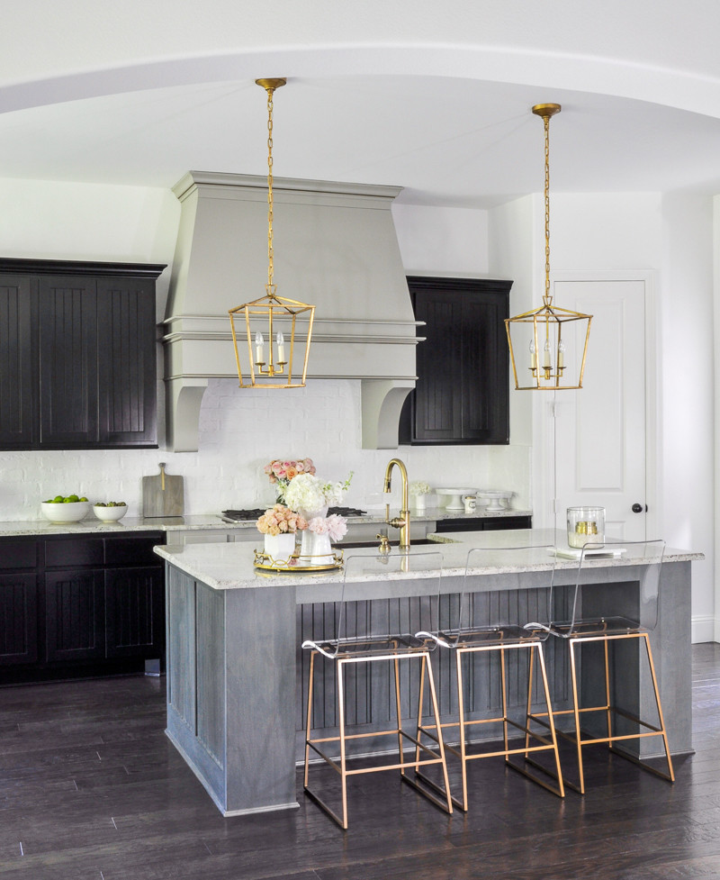 Best ideas about Kitchen Decor Accents . Save or Pin Kitchen Update With Gold Accents By Decor Gold Designs Now.
