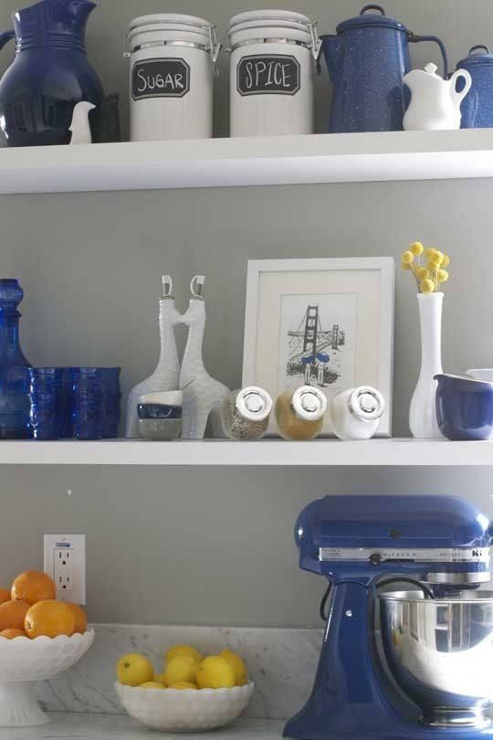 Best ideas about Kitchen Decor Accents . Save or Pin Best 25 Blue kitchen decor ideas on Pinterest Now.