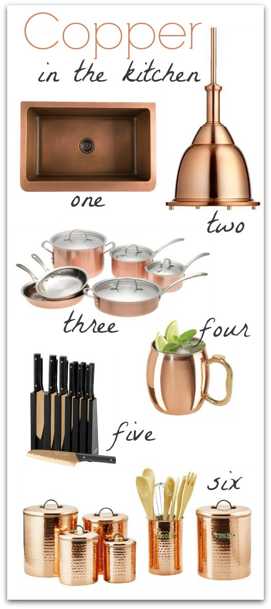Best ideas about Kitchen Decor Accents . Save or Pin Copper in the Kitchen Now.
