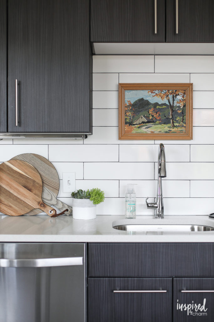 Best ideas about Kitchen Decor Accents . Save or Pin Drab to Fab Apartment Kitchen Decor Inspired by Charm Now.