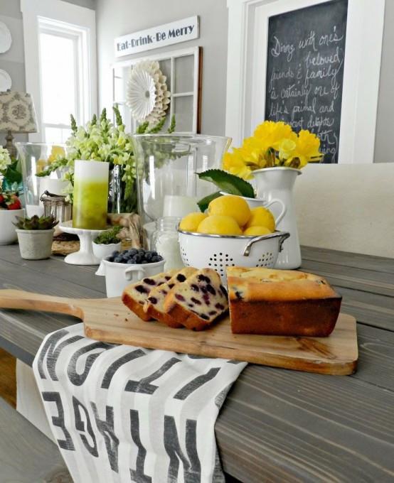 Best ideas about Kitchen Decor Ideas Photos . Save or Pin 39 Inspiring Spring Kitchen Décor Ideas DigsDigs Now.