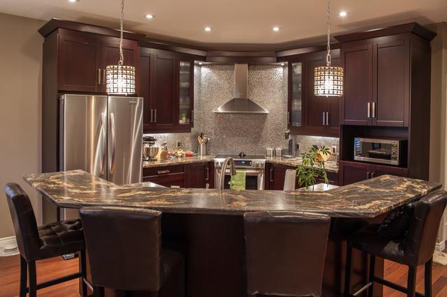 Best ideas about Kitchen Decor Ideas Photos . Save or Pin Hansen Contemporary Kitchen Toronto by Allen Now.