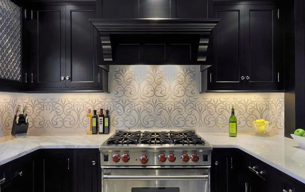 Best ideas about Kitchen Decor Ideas Photos . Save or Pin Modern Wallpaper for Small Kitchens Beautiful Kitchen Now.