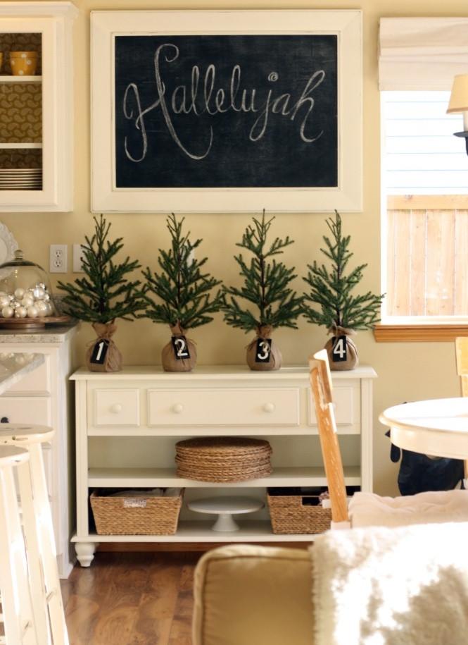 Best ideas about Kitchen Decor Ideas Photos . Save or Pin 40 Cozy Christmas Kitchen Décor Ideas Now.