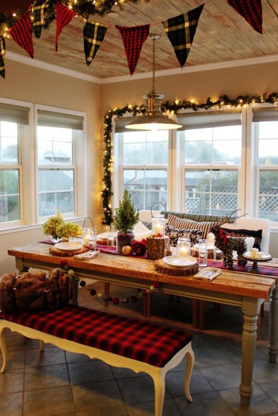 Best ideas about Kitchen Decor Ideas Photos . Save or Pin 40 Cozy Christmas Kitchen Décor Ideas DigsDigs Now.