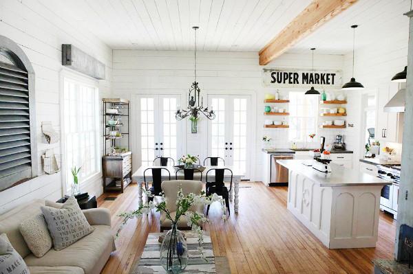 Best ideas about Kitchen Decor Ideas Photos . Save or Pin Farmhouse Kitchen Décor Ideas How to Nest for Less™ Now.