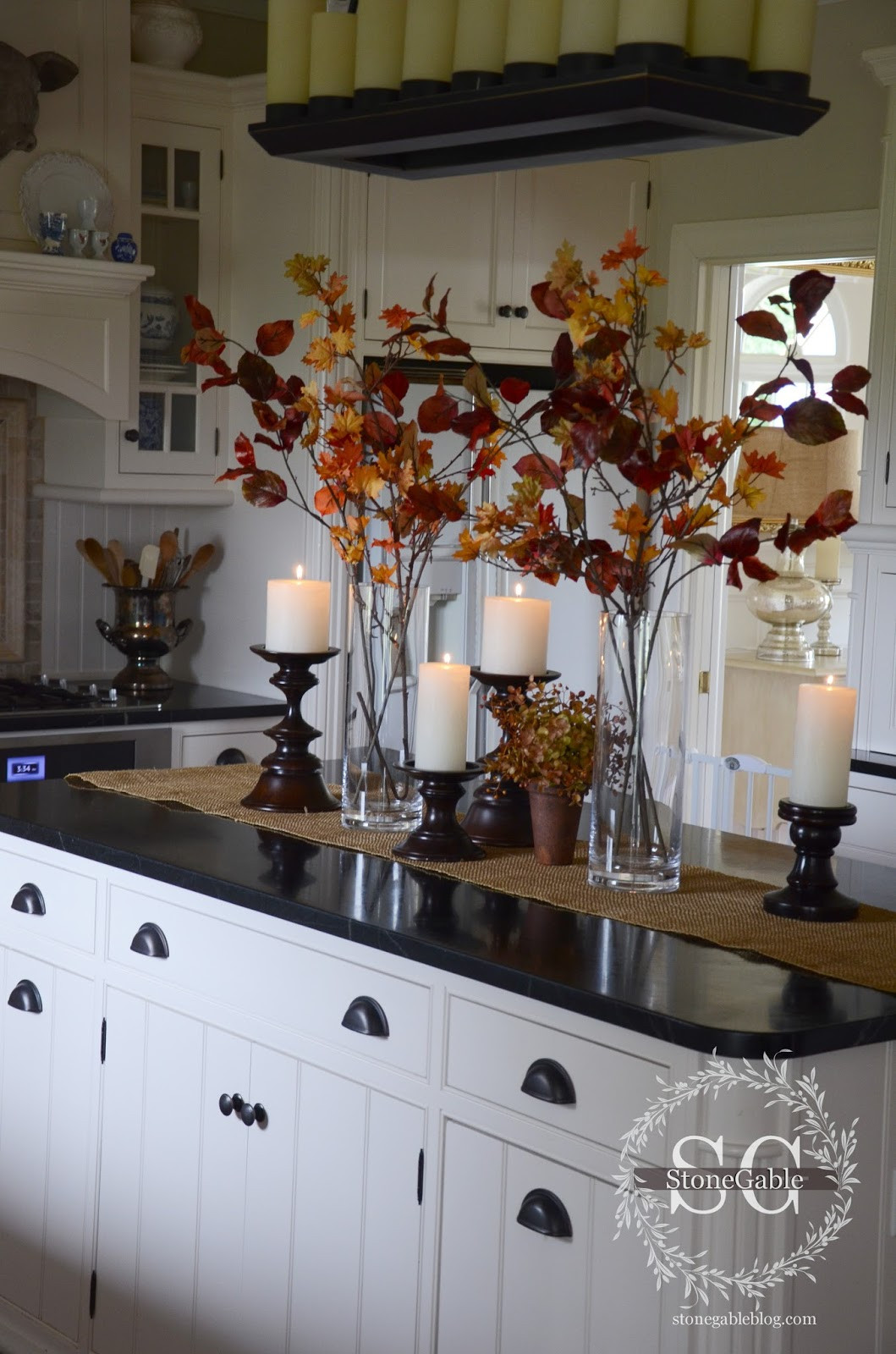 Best ideas about Kitchen Decorating Accessories . Save or Pin ALL ABOUT THE DETAILS KITCHEN HOME TOUR StoneGable Now.