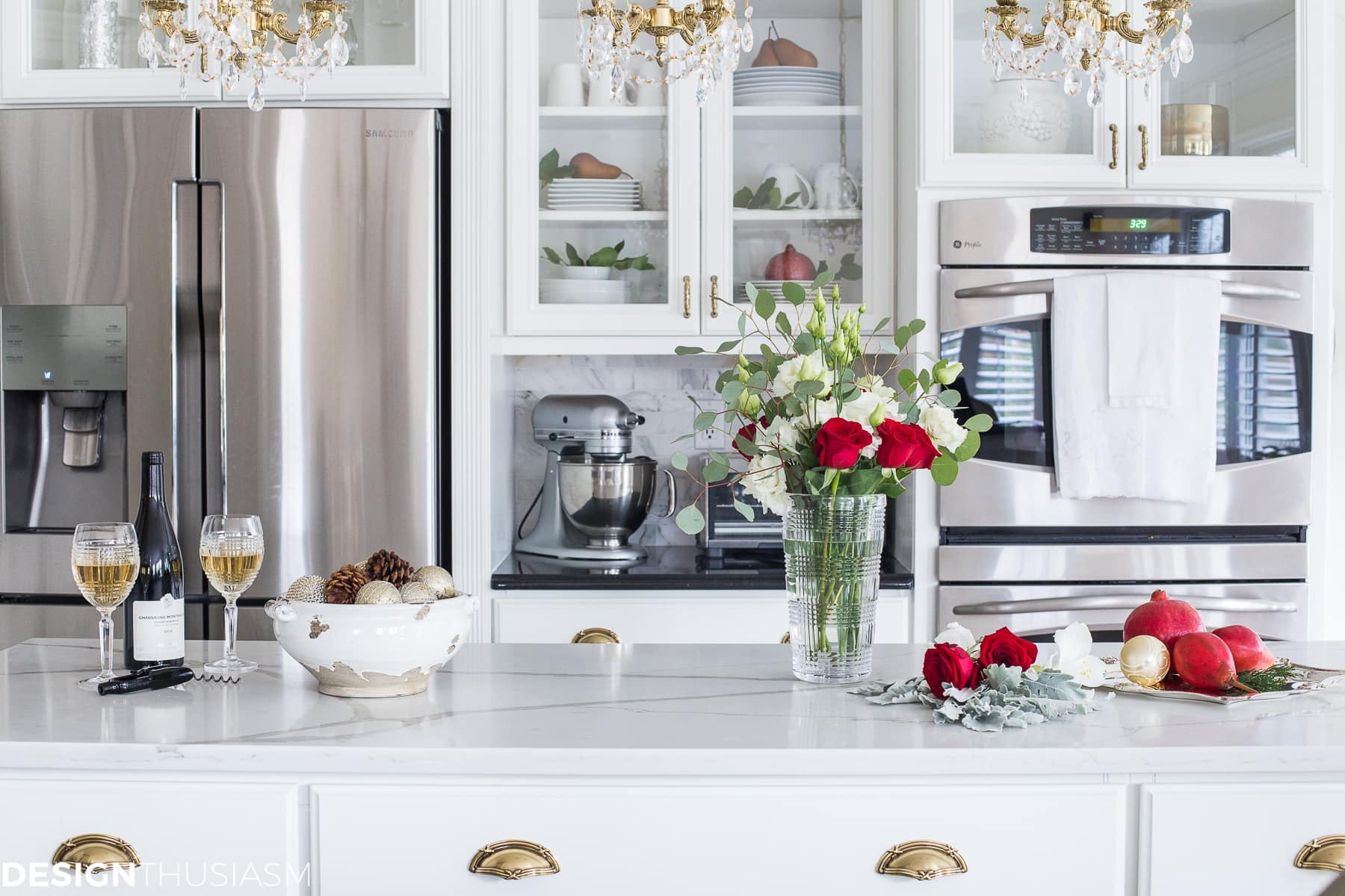 Best ideas about Kitchen Decorating Accessories . Save or Pin Christmas Kitchen Decor with French Country Elegance Now.