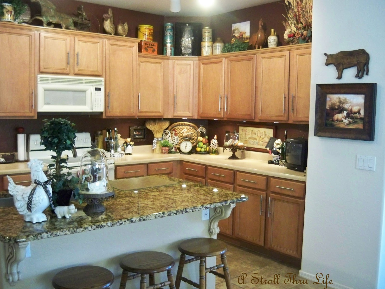 Best ideas about Kitchen Decorating Accessories . Save or Pin A Stroll Thru Life Kitchen Decor Now.