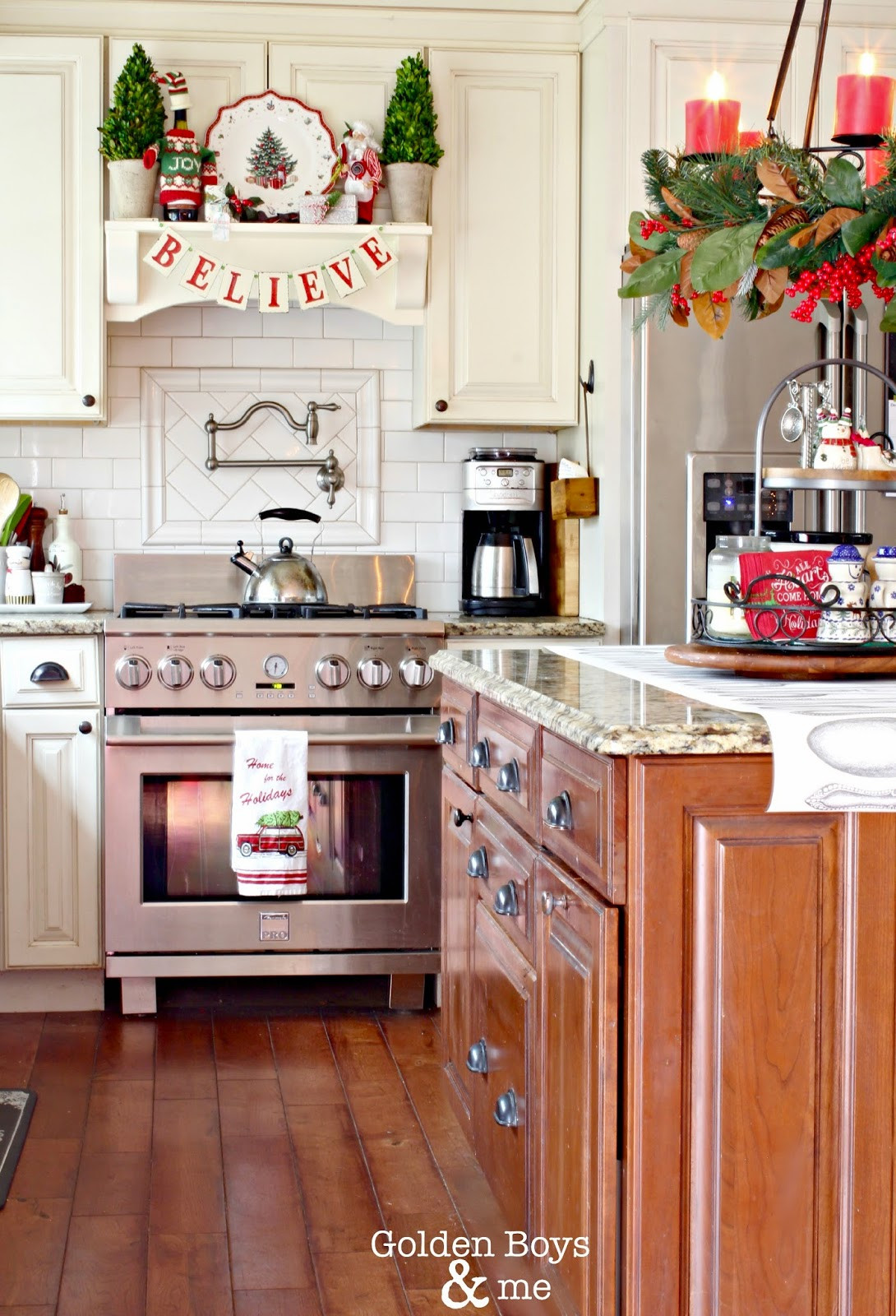Best ideas about Kitchen Decorating Accessories . Save or Pin Golden Boys and Me Christmas in the Kitchen Now.
