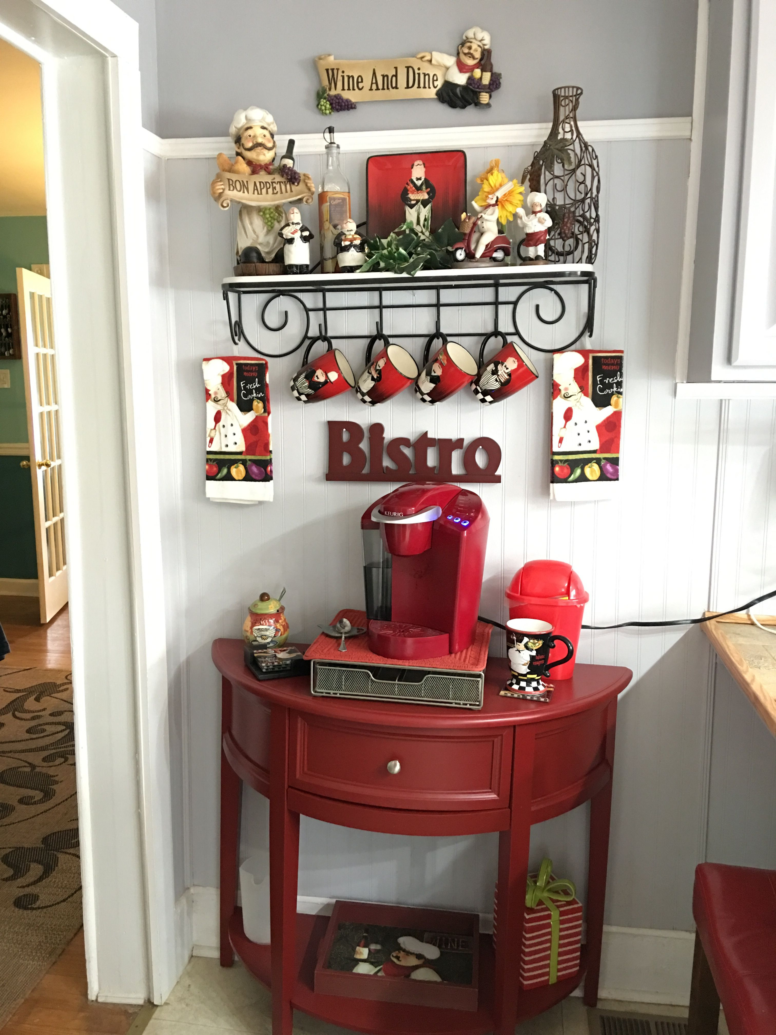Best ideas about Kitchen Decorating Accessories . Save or Pin Chef bistro decor home Now.