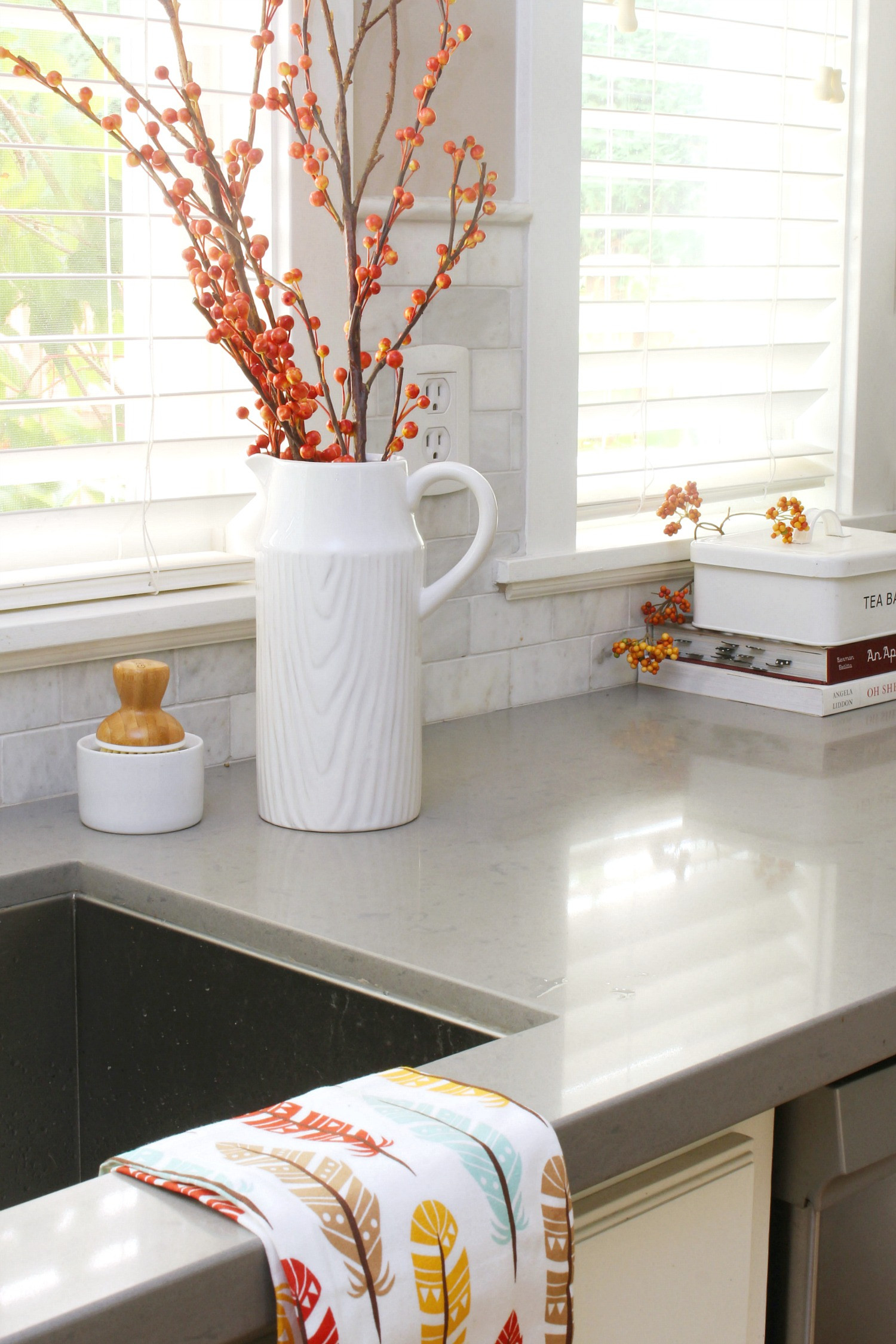 Best ideas about Kitchen Decorating Accessories . Save or Pin Easy Fall Kitchen Decorating Ideas Clean and Scentsible Now.