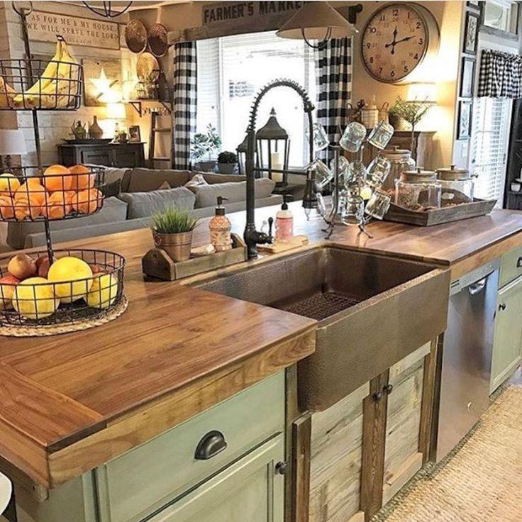 Best ideas about Kitchen Decorating Pinterest . Save or Pin Best 25 Country kitchen decorating ideas on Pinterest Now.