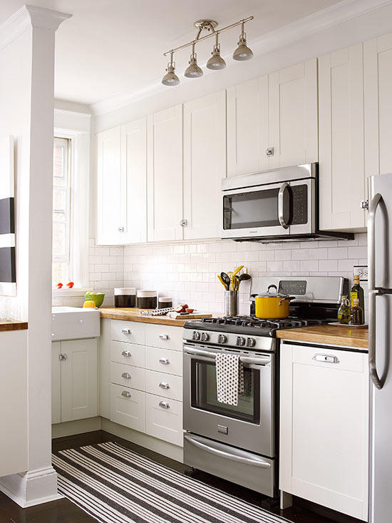 Best ideas about Kitchen Decorating Pinterest . Save or Pin Small White Kitchens Now.