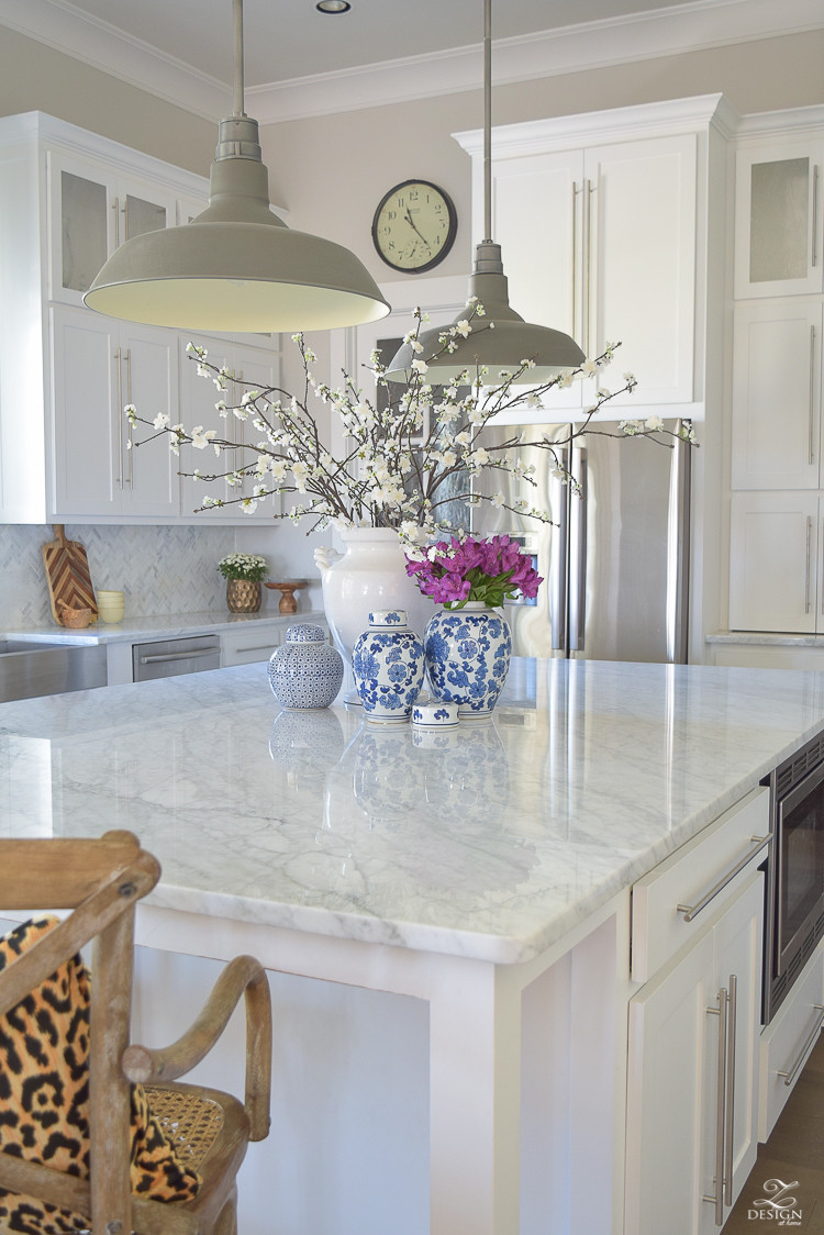 Best ideas about Kitchen Decorating Pinterest . Save or Pin 3 Simple Tips for Styling Your Kitchen Island Now.