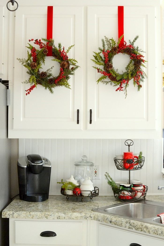 Best ideas about Kitchen Decorating Pinterest . Save or Pin Christmas in the Kitchen SO MANY CUTE DECORATING IDEAS Now.