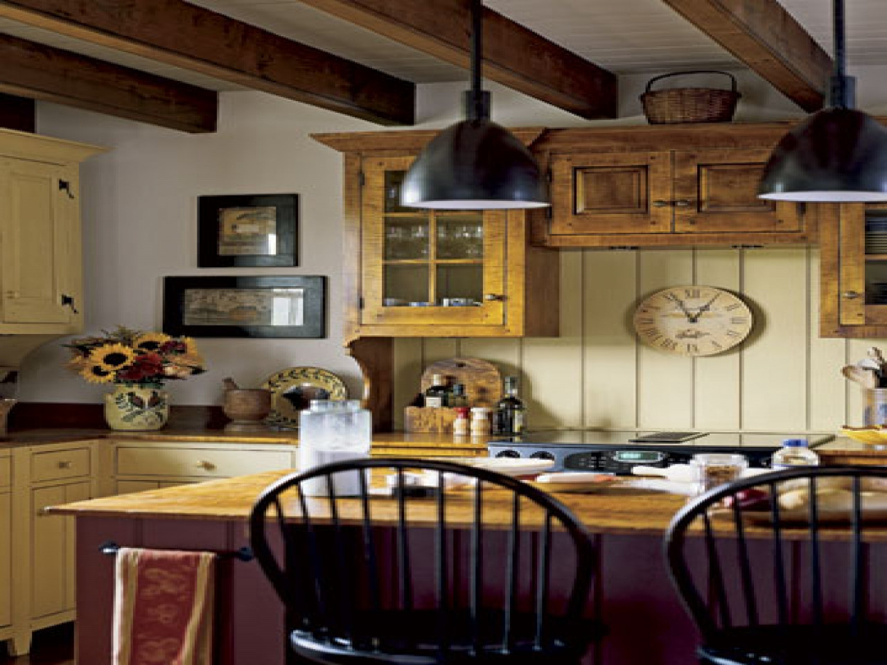 Best ideas about Kitchen Decorating Pinterest . Save or Pin French provincial dining room chairs country kitchen Now.