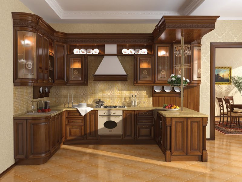 Best ideas about Kitchen Furniture Ideas . Save or Pin Kitchen cabinet designs 13 s Kerala home design Now.