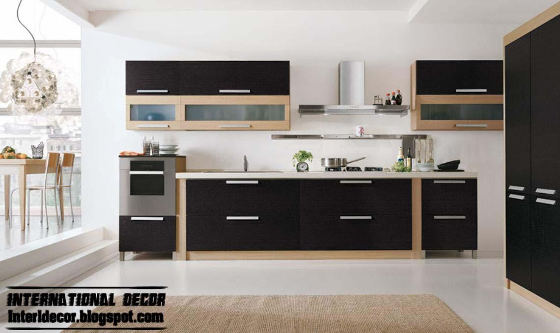 Best ideas about Kitchen Furniture Ideas . Save or Pin Modern black kitchen designs ideas furniture cabinets Now.