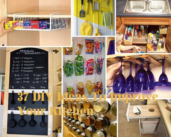 Best ideas about Kitchen Hacks DIY . Save or Pin 37 DIY Hacks and Ideas To Improve Your Kitchen Now.