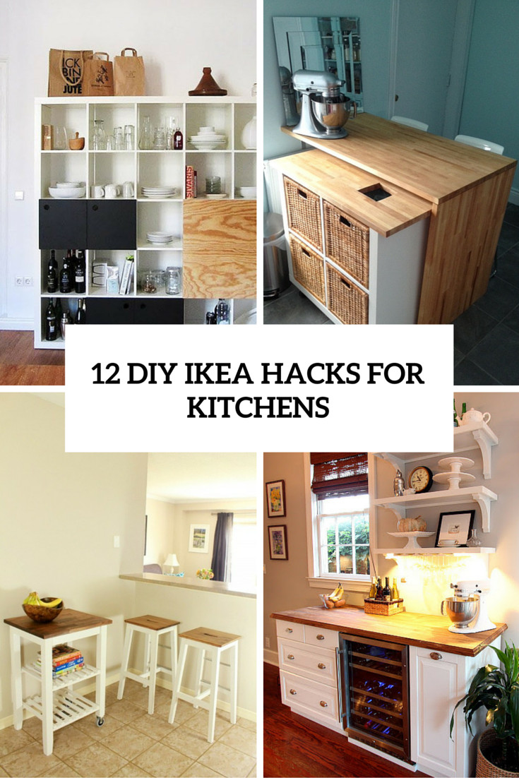 Best ideas about Kitchen Hacks DIY . Save or Pin 12 Functional And Smart DIY IKEA Hacks For Kitchens Now.