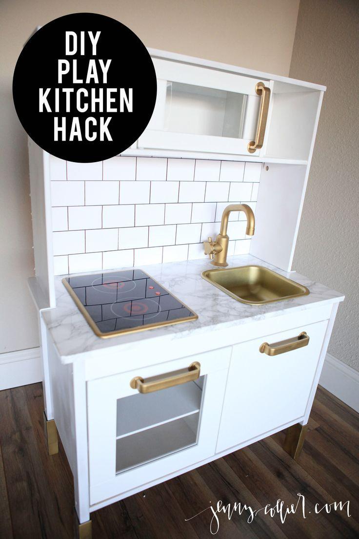 Best ideas about Kitchen Hacks DIY . Save or Pin De 25 bedste idéer til Play kitchens på Pinterest Now.