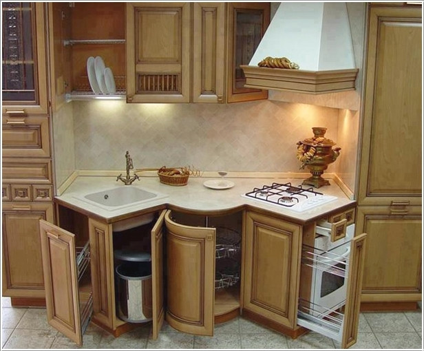 Best ideas about Kitchen Ideas For Small Spaces . Save or Pin 10 Innovative pact Kitchen Designs for Small Spaces Now.