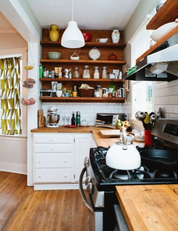 Best ideas about Kitchen Ideas For Small Spaces . Save or Pin 27 Space Saving Design Ideas For Small Kitchens Now.