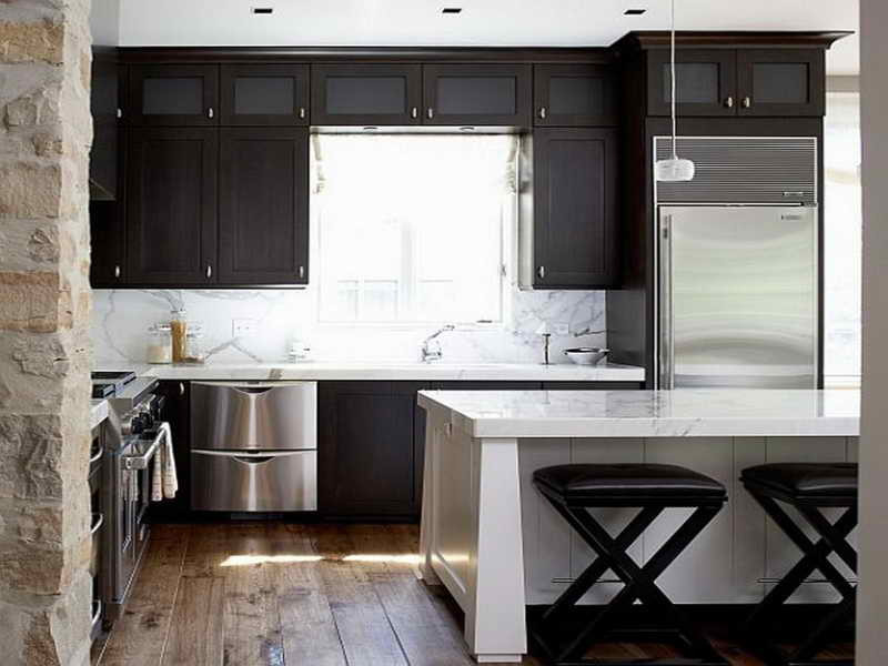 Best ideas about Kitchen Ideas For Small Spaces . Save or Pin Miscellaneous Modern Kitchen Designs for Small Spaces Now.