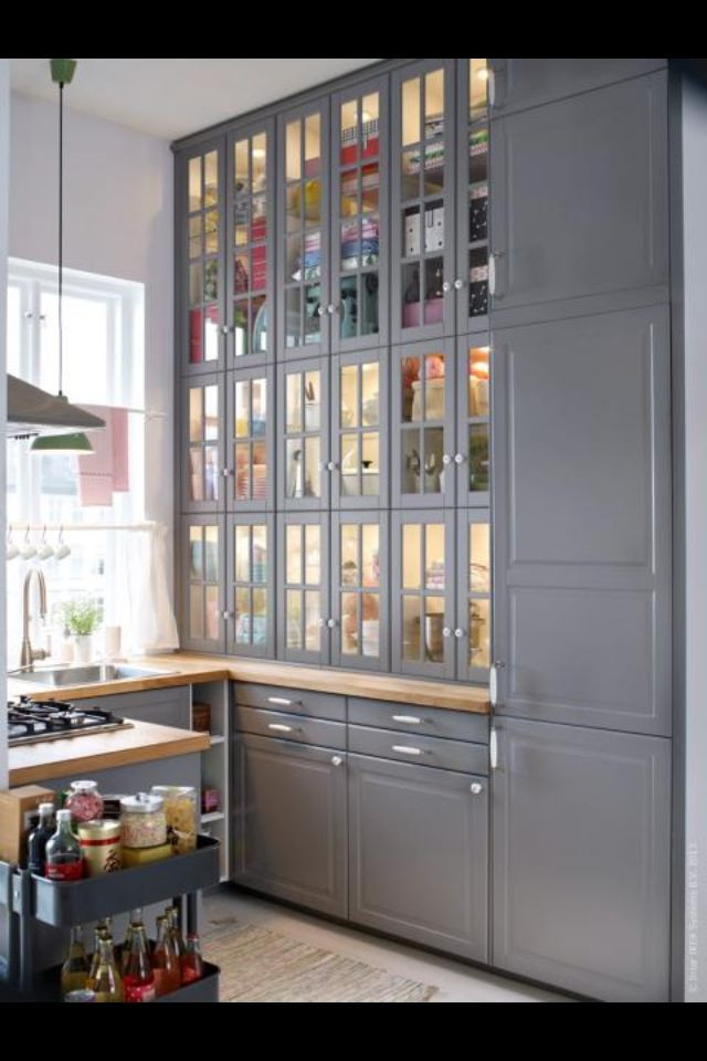 Best ideas about Kitchen Pantry Cabinets Ikea . Save or Pin 17 best Ikea Lidingo Kitchens images on Pinterest Now.