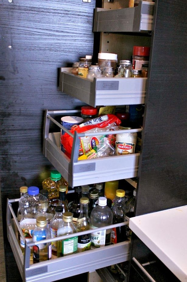 Best ideas about Kitchen Pantry Cabinets Ikea . Save or Pin Ikea Tall Pantry Cabinet with pull out shelves so you Now.