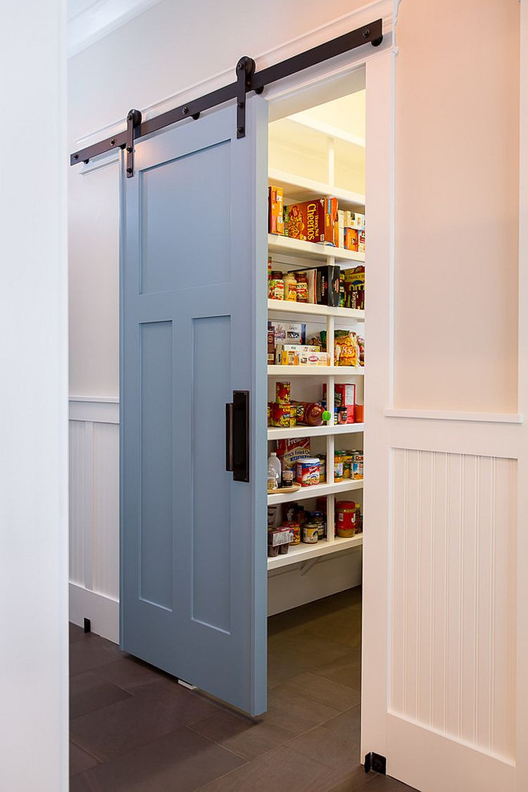 Best ideas about Kitchen Pantry Doors . Save or Pin 25 Trendy Kitchens That Unleash the Allure of Sliding Barn Now.