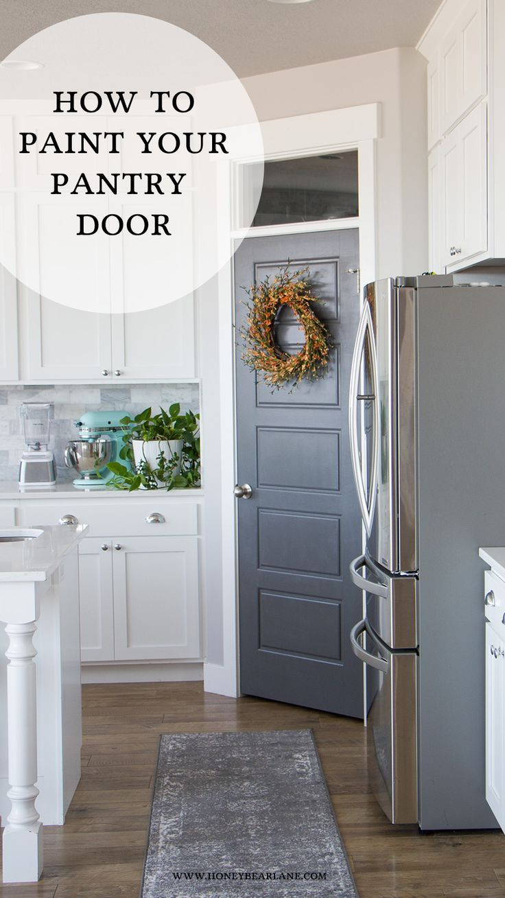 Best ideas about Kitchen Pantry Doors . Save or Pin Best 25 Painted pantry doors ideas only on Pinterest Now.