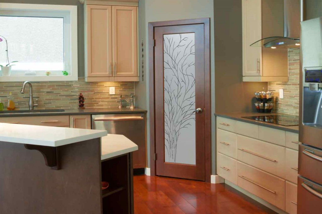 Best ideas about Kitchen Pantry Doors . Save or Pin kitchen pantry doors Sans Soucie Art Glass Now.