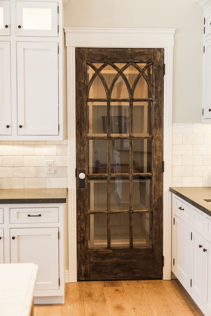 Best ideas about Kitchen Pantry Doors . Save or Pin 113 best Walk In Pantries images on Pinterest Now.