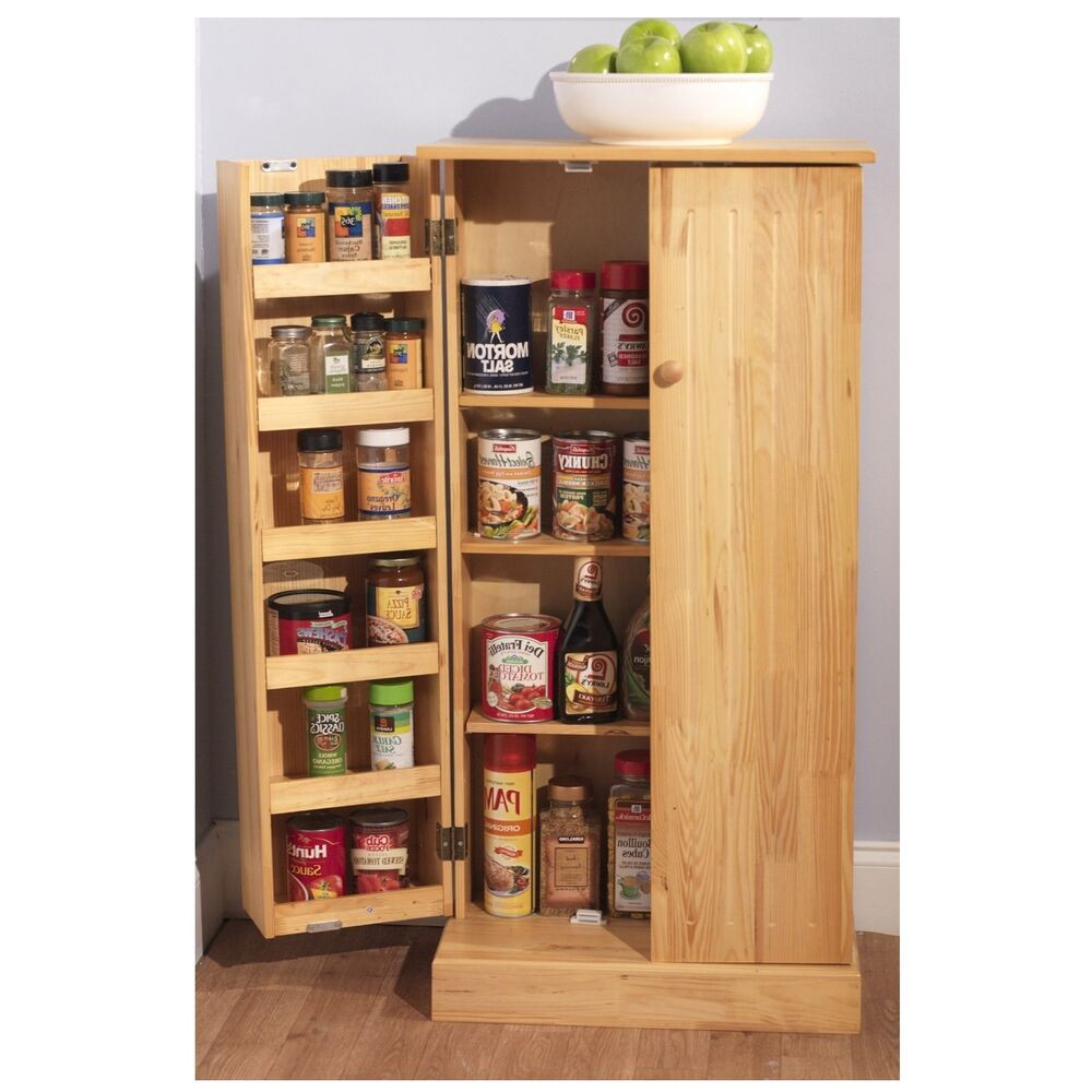 Best ideas about Kitchen Pantry Furniture . Save or Pin Kitchen Storage Cabinet Pantry Utility Home Wooden Now.