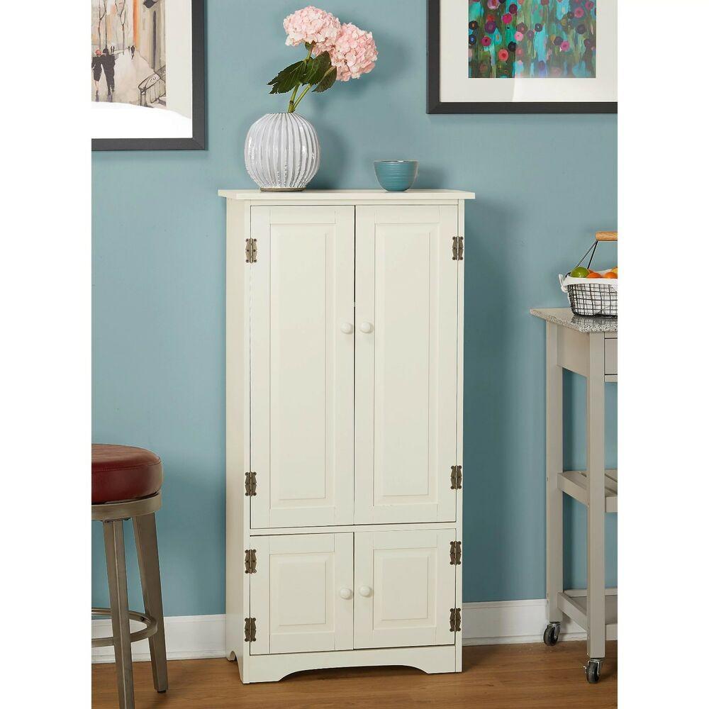Best ideas about Kitchen Pantry Furniture . Save or Pin Tall Kitchen Cabinet Storage Organizer Furniture Bathroom Now.