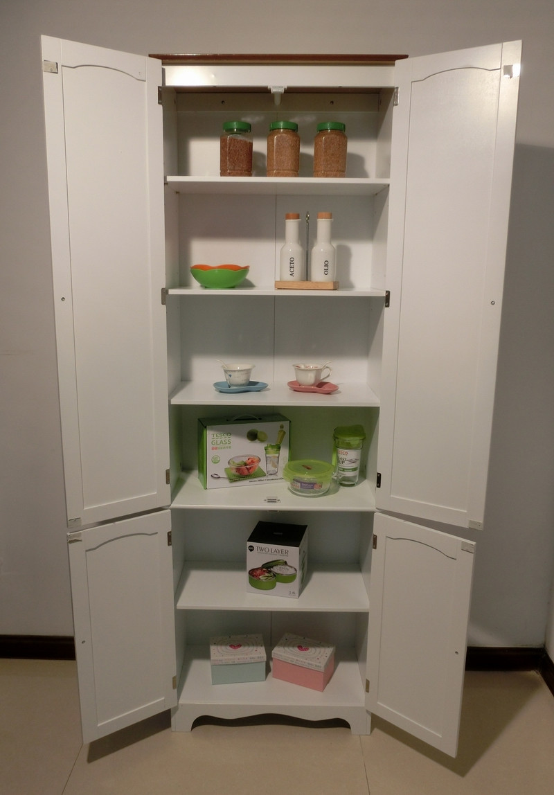 Best ideas about Kitchen Pantry Furniture . Save or Pin Kitchen Pantry Linen Storage Cabinet Cupboard Bathroom Now.