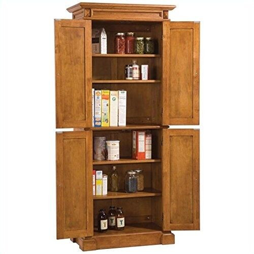 Best ideas about Kitchen Pantry Furniture . Save or Pin Kitchen Pantry Storage Cabinet Wooden Furniture Distressed Now.