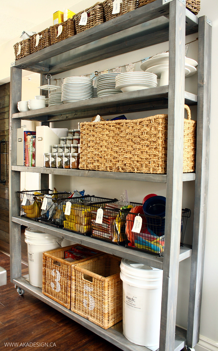 Best ideas about Kitchen Pantry Shelving . Save or Pin Rolling Kitchen Pantry Shelves Now.