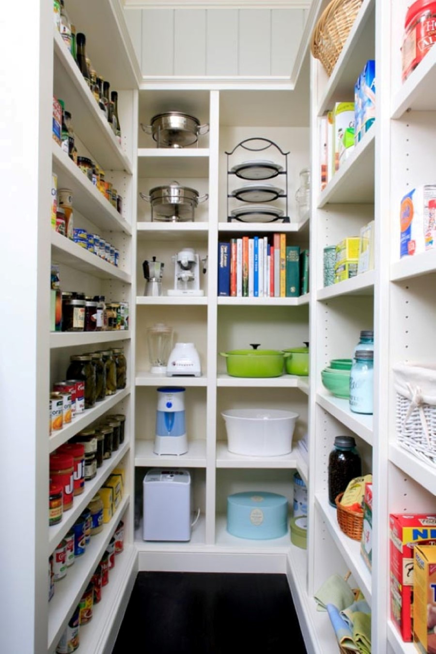 Best ideas about Kitchen Pantry Shelving . Save or Pin 15 Kitchen Pantry Ideas With Form And Function Now.