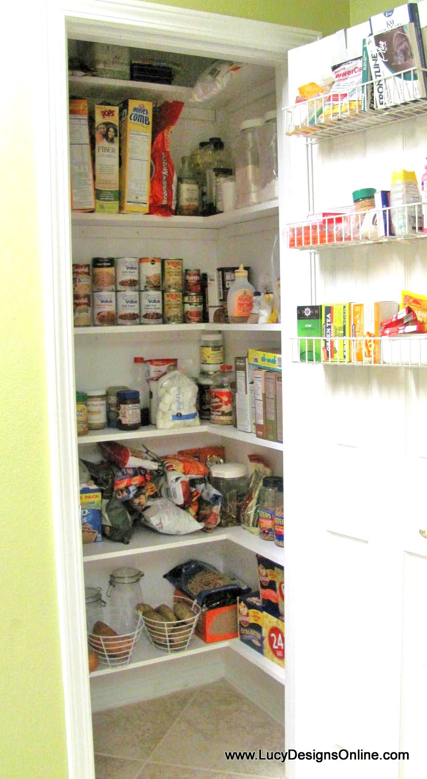 Best ideas about Kitchen Pantry Shelving . Save or Pin Kitchen Pantry Makeover DIY Installing Wood Wrap Around Now.