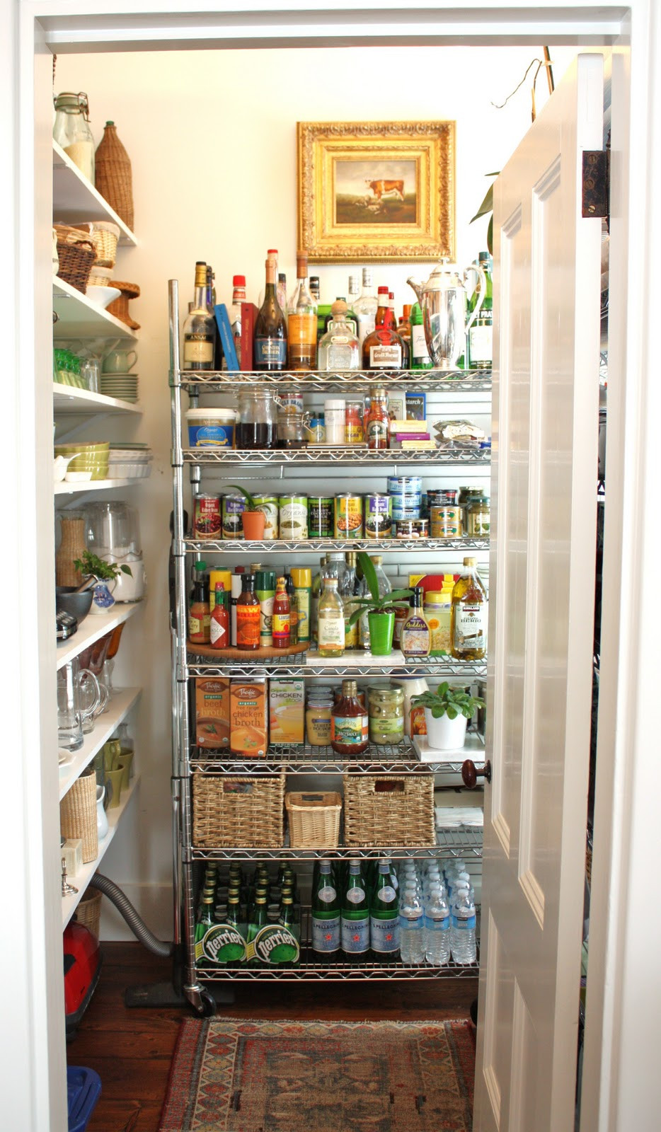 Best ideas about Kitchen Pantry Shelving . Save or Pin for the love of a house the pantry Now.