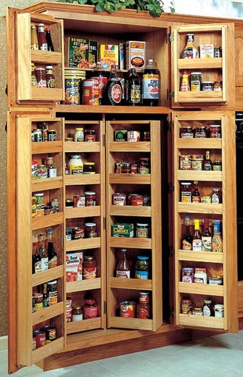 Best ideas about Kitchen Pantry Shelving . Save or Pin Choosing A Kitchen Pantry Cabinet design bookmark 4110 Now.