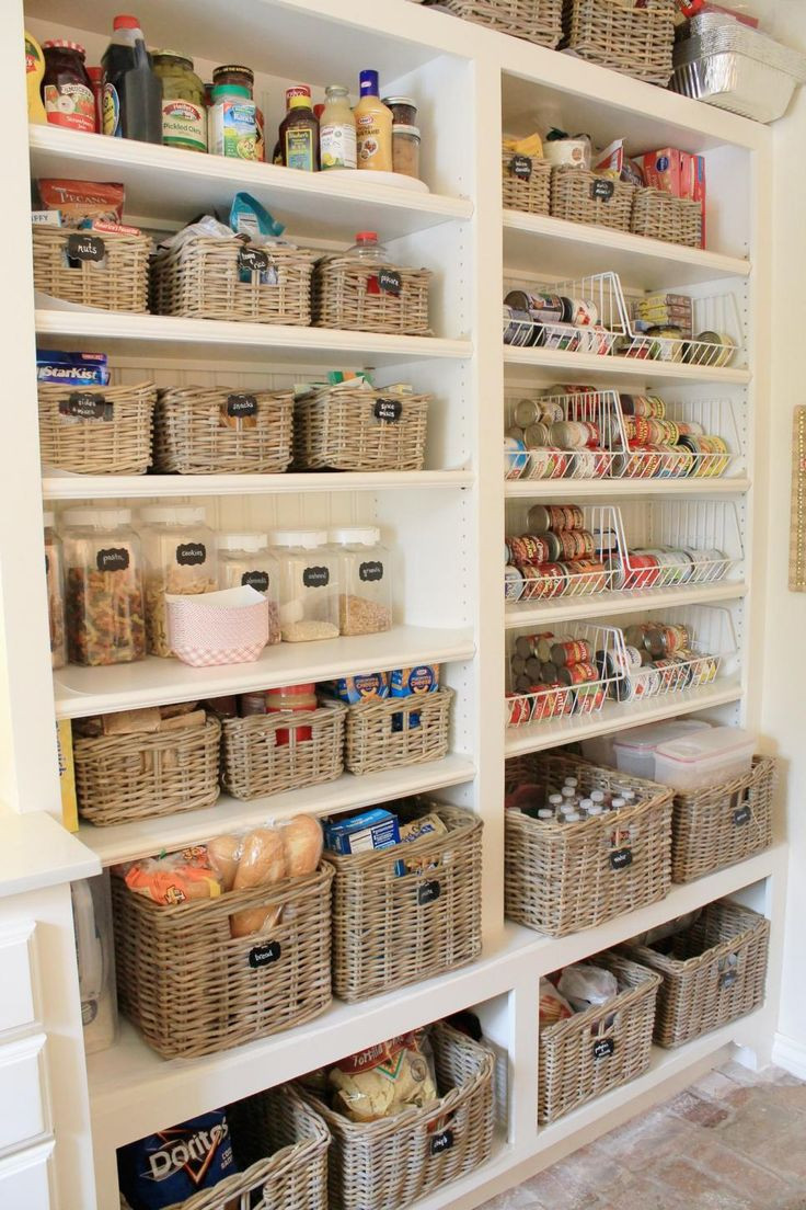 Best ideas about Kitchen Pantry Shelving . Save or Pin Best 25 Open pantry ideas on Pinterest Now.
