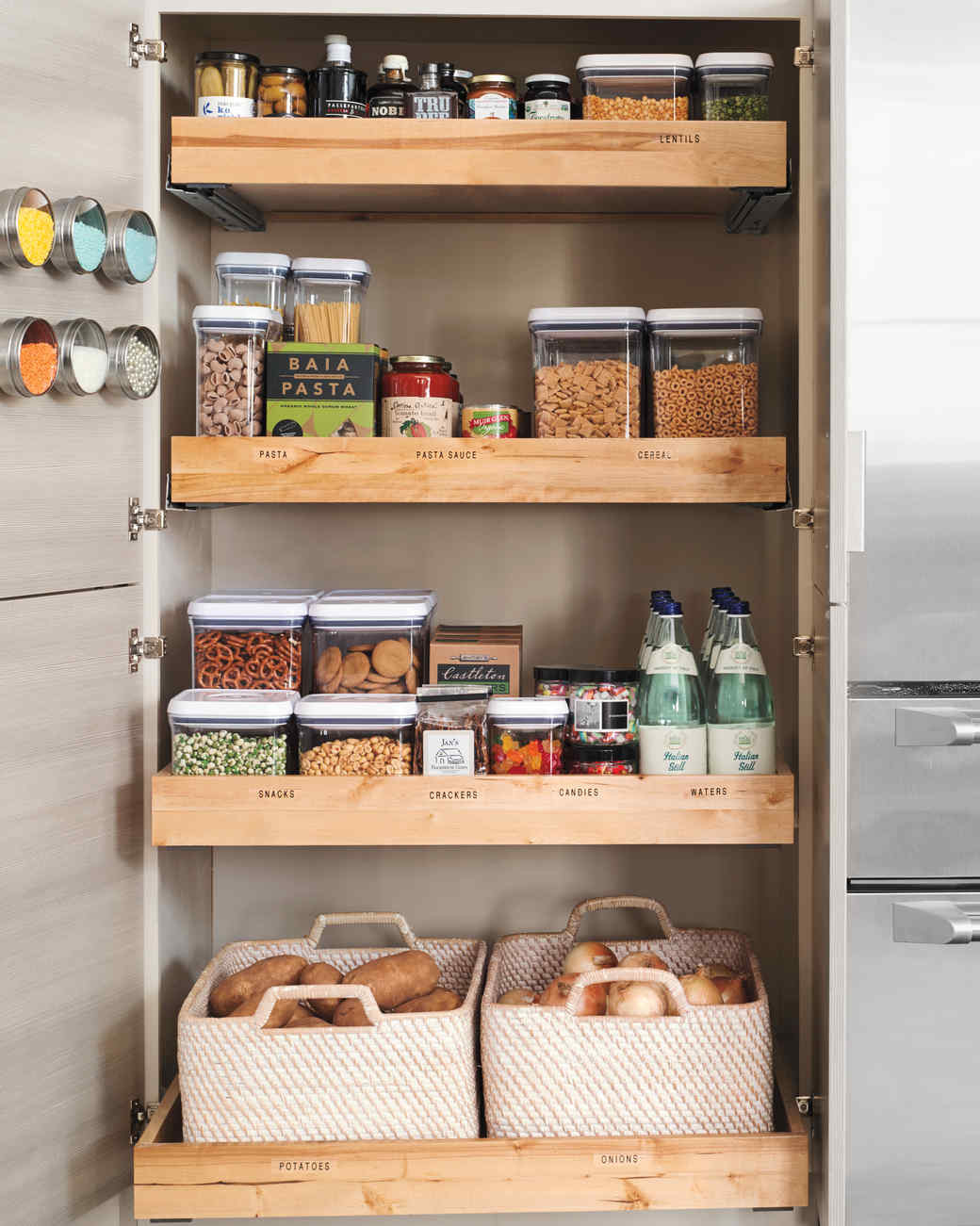 Best ideas about Kitchen Pantry Shelving . Save or Pin 10 Best Pantry Storage Ideas Now.