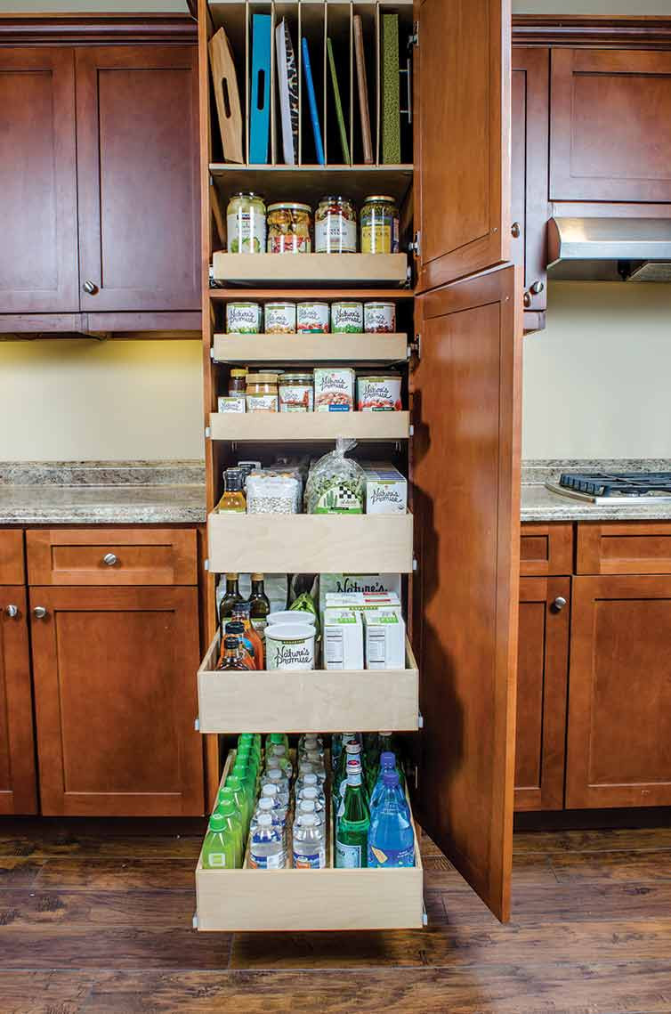 Best ideas about Kitchen Pantry Shelving . Save or Pin Pantry Pull Out Shelves & Custom Shelves ShelfGenie Now.